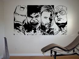 wall decals avengers color the walls of your house