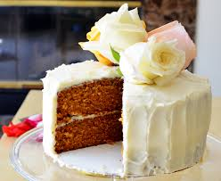 Carrot Decoration For Cake Classic Carrot Cake With Fluffy Cream Cheese Frosting Sprig And