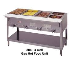 duke gas steam table duke mfg 304 aerohot steamtable 4 wells gas