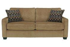W X D X H Galand Sofa At Ashley Furniture  Loveseat - Straight line sofa designs