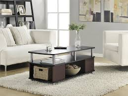 ameriwood furniture carson coffee table cherry black