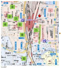 shinagawa station map map3 jpg