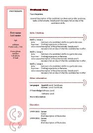 cv templates combination 4 resume templates