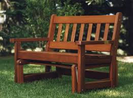 outdoor wooden gliders by all things cedar adirondack furniture