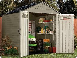 Rubbermaid Storage Shed Shelves by Build A Shed Kit Rubbermaid Roughneck Large Storage Shed Wood