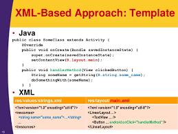 tutorial android xml android tutorial android programming basics xml java and hybrid a