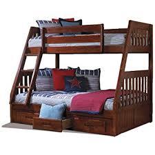 Amazoncom American Furniture Classics Bunk Bed TwinFull - Furniture bunk beds