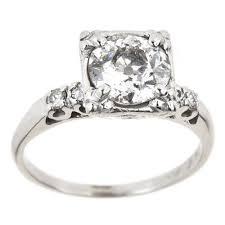 mine cut engagement ring mine cut ebay