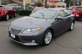 lexus car for sale used lexus es for sale in seattle area