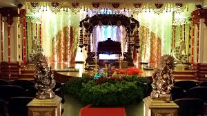 luxury indian wedding decorations at temple wedding gallery