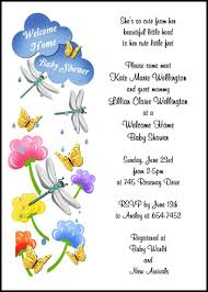 welcome home baby shower welcome home baby shower clouds with raindrops party invitations