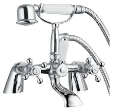 stafford traditional classic bathroom bath shower mixer victorian