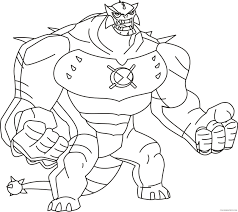heatblast ben 10 coloring pages coloring4free coloring4free com