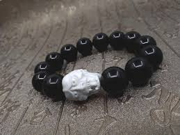 black onyx beads bracelet images Hannya mask black onyx beaded bracelet khachara empire jpg