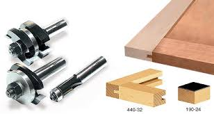 router bits for cabinet door making 3 piece tongue groove cabinet door making router bit set