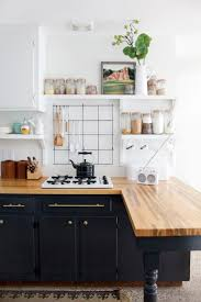 considering the dark and cool black kitchen cabinets black kitchen