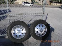 Ford F350 Truck Rims - 19 5 direct fit alcoa rims tires 05 to 08 f350 dually