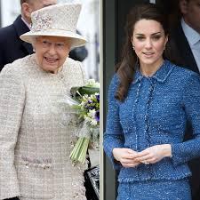 Queen Elizabeth by Queen Elizabeth And Princess Kate Both Wear Tweed