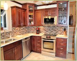 kitchens with glass tile backsplash kitchen glass tile backsplash home design ideas