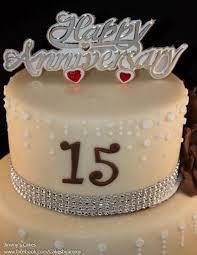15 wedding anniversary 9 15 anniversary cakes picture gallery photo 15 birthday cake