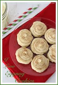 i love eggnog cookies cooking with ruthie
