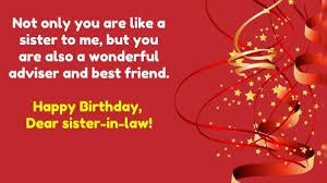 top 30 birthday quotes for sister in law with images