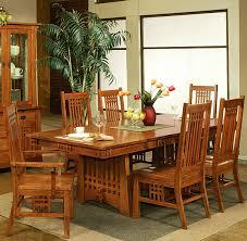 Mission Dining Room Furniture Mission Style Dining Room Set Oak Barclaydouglas