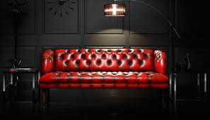 Chesterfields Sofa by Chesterfield Sofa Leather 3 Seater Red Parliament