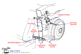c2 corvette parts c2 corvette rear shock parts parts accessories for corvettes