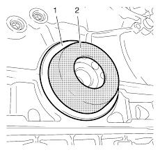 repair instructions off vehicle crankshaft rear oil seal