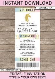printable ticket invitations baseball ticket invitation template