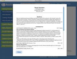 View Sample Resume by Home Resumemaker For Mac