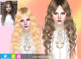 sims 3 hair custom content objnoora newsea sims3 hair j164