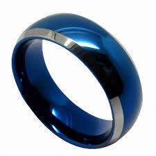 blue man rings images Queenwish vintage mm tungsten jpg