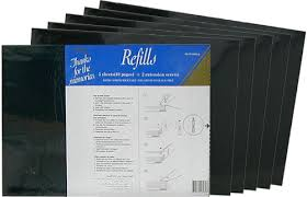 magnetic photo album acid free 6 x ncl jumbo refills yr 6005 b black pages bulk deal