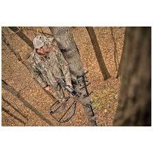 hawk mega combat hang on tree stand with mud finish 667258 hang