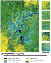 Flood Plain Map Classification Map Of The Entire Congo River Floodplain At 200