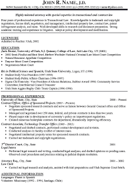 a simple resume exle sle attorney resume attorney sle resume jobsxs