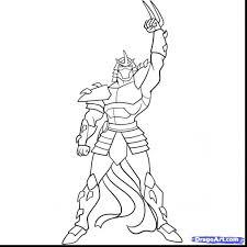 teenage mutant ninja turtles coloring pages shredder donatello