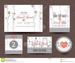 Wedding Invitation Cards Usa Set Of Wedding Cards Wedding Invitations Thank You Card Save