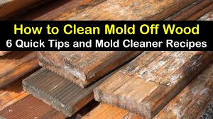 how to remove white spots of wood furniture 6 ways to clean mold wood