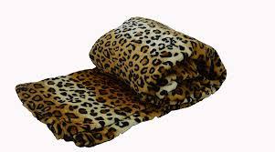 Cheetah Print Blanket Amazon Com Fancy Collection Super Soft Flannel Blanket Animal