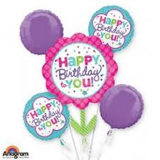 balloon delivery atlanta bunch of lovely happy birthday balloons send this beautiful bunch