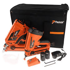 Paslode Roofing Nailer by Paslode Lithium Ion Mark 2 Twin Pack Framemaster Li Trimmaster Kit