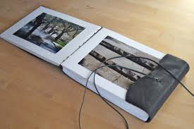 handmade leather photo albums handmade book structures hinged strung stitched