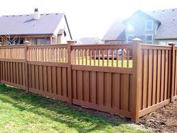 bedroom cute backyard fence designs and styles landscape ideas