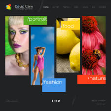 create free photography website online templates perfect