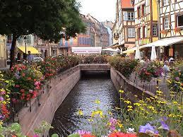 Colmar France Cafe In Colmar France