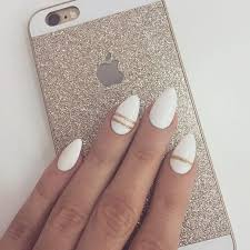 best 25 white almond nails ideas on pinterest nails