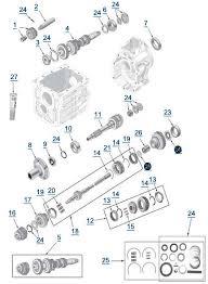 cj t4 transmission 4 wheel parts